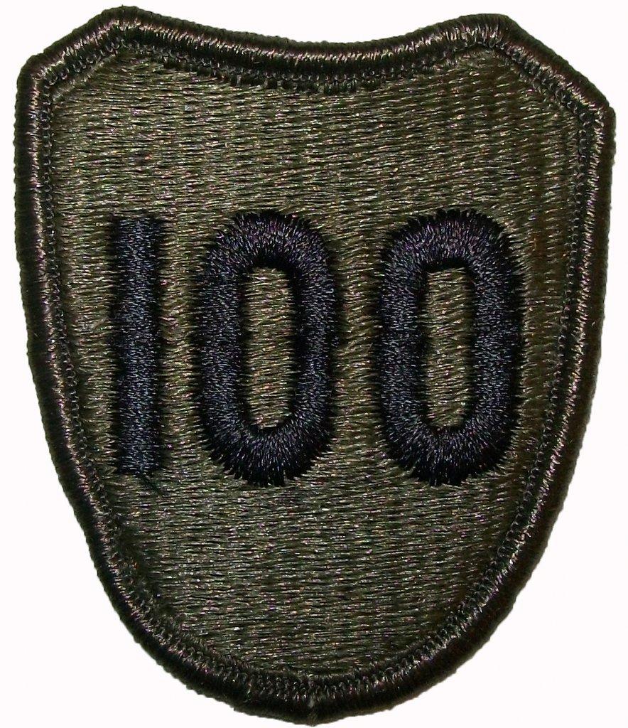 100th infantry