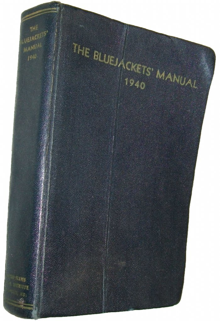 The Bluejackets Manual 1944 12th Edition United States Navy Illustrated Frontis